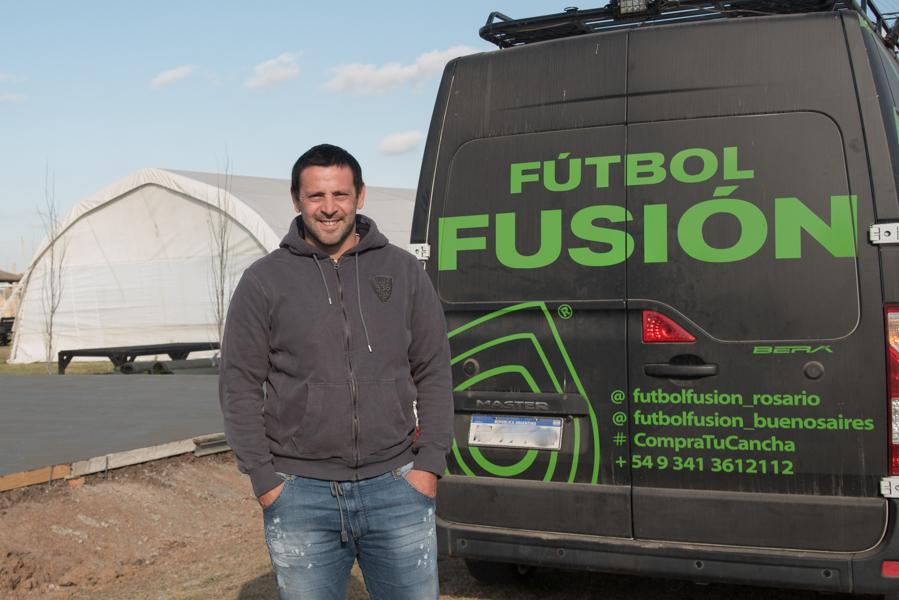 Coty Fernández, el campeón olímpico que se reinventa en Funes