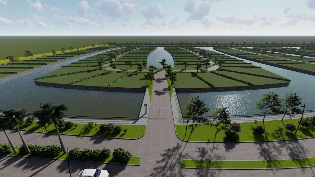 Aguadas Lakes, un nuevo barrio cerrado con islas artificiales