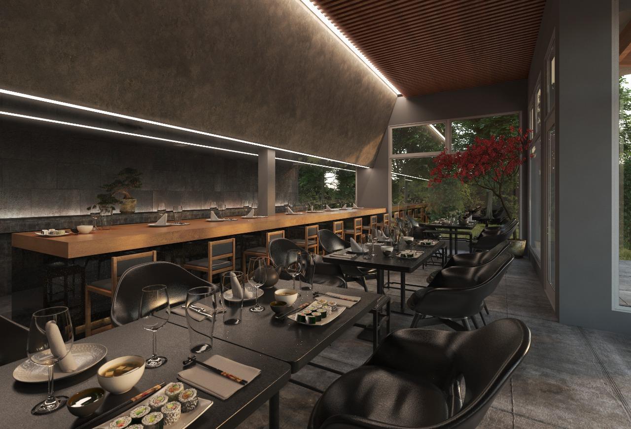 Traen el sushi más top del país a Funes con un local inédito
