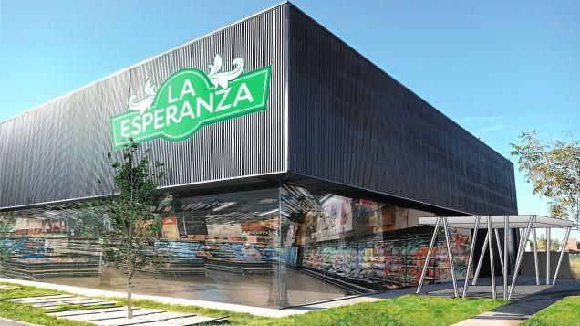 "Traen a Funes un supermercado a la europea pero con precios ""super competitivos"""