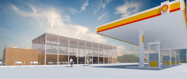 Con formato único en el país, la nueva Shell de Galindo prepara su apertura